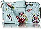 Vera Bradley Rfid Smartphone Wristlet, Signature Cotton, Water Bouquet