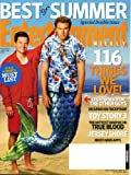 Entertainment Weekly July 9&16 2010 Mark Wahlberg & Will Ferrell/The Other Guys on Cover, Leonardo Dicaprio on Inception, Toy Story 3, The Hottest Vampire on True Blood, Jersey Shore, Best of Summer Double Issue