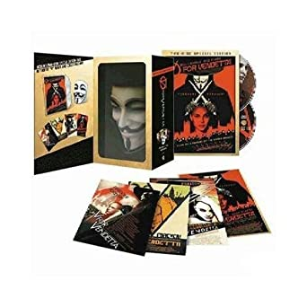V for vendetta collector's edition deluxe mask – dc shop.