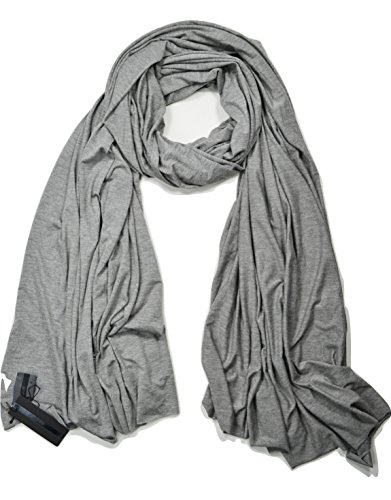 SALE $32.99 Fluxus Nomad Scarf in Stone Grey, Oprah's Must-Have, Cotton, USA