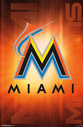 MLB Miami Marlins, Team Logo, 22