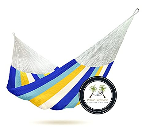 coastal hammock   100  hand woven amazon     coastal hammock   100  hand woven   garden  u0026 outdoor  rh   amazon