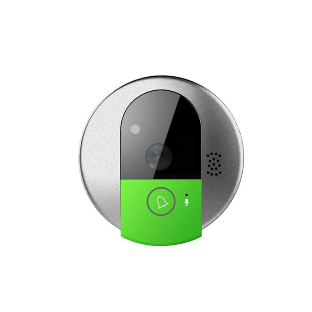 Doorbell@ Smart Video Motion Detection Alarm RealTime 2Way Talk Remote Control Monitor Doorphone System for Private Houses, Villas, Offices, Hotels