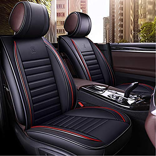 Han sui song Car Seat Cover Set Universal Automotive Accessories Artificial Leather Pet Dog for Sedan Truck Pickup SUV Full Set 9 - Covers Seat Bmw X5