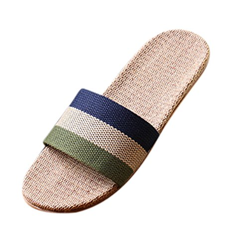 Outdoor Antiscivolo Scarpe Huateng Shoes Pantofole Sandali Unisex Lino 6 Indoor Di Comode 7xvpEq