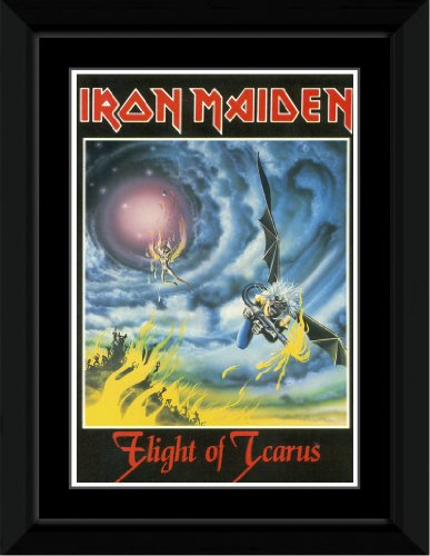Iron Maiden - Flight Of Icarus Framed Mini Poster
