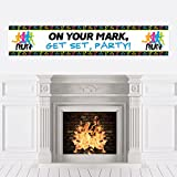Big Dot of Happiness Set The Pace - Running - Track, Cross Country or Marathon Party Decorations Party Banner