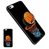 iPhone 6/6S Plus Basketball Pop Mount Stand Case, Personalized Soft TPU Rubber Gel [Anti Scratch] Cover Case with Pop Mount Stand [Shock Absorption] for iPhone 6/6S Plus(5.5 Inch) - Basketball06