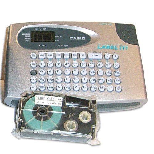 - Casio - KL60SR Compact EZ-Label Maker, 2 Lines KL60SR-UST (DMi EA