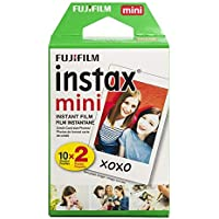 Fujifilm Instax Mini Instant Film Twin Pack (White)