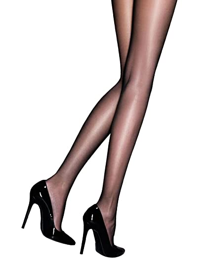 e3a01ea52af Amazon.com  Raula 40 Denier Shiny Satin Glossy Tights  Clothing