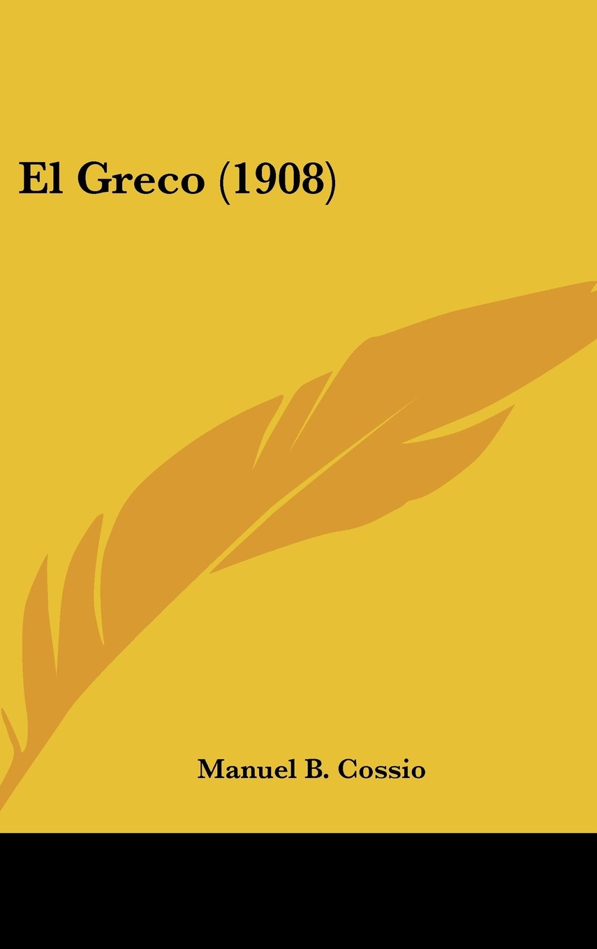 Read Online El Greco (1908) (Spanish Edition) ebook