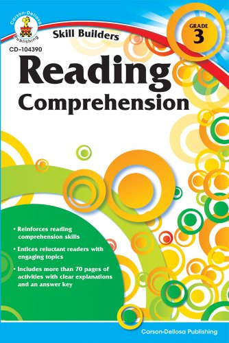 Reading Comprehension, Grade 3 (Skill Builders) -