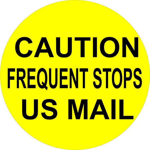 Caution U.S. Mail for Virginia Spare Tire Cover for Jeep RV and more (all sizes - S U 245