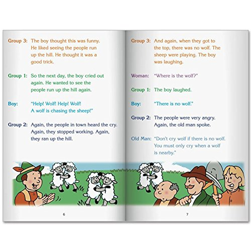 Really Good Readers' Theater - The Boy Who Cried Wolf Big Book by Really Good Stuff (Image #3)