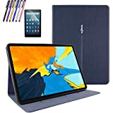 "Mignova iPad Pro 11"" Case,Smart Cover Protective,Folio Flip Stand with Magnetic,Auto Sleep/Wake for iPad Pro 11 2018 Release (Blue)"