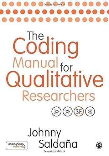 amazon com the coding manual for qualitative researchers rh amazon com the coding manual for qualitative researchers saldana pdf the coding manual for qualitative researchers saldana pdf