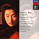 The Great Violin Concertos - Kyung Wha Chung