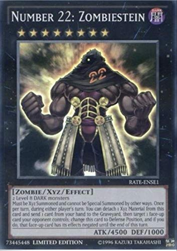 (Yu-Gi-Oh! -6X Number 22: Zombiestein Rate-ENSE1 - Limited Ed. - Super Rare- NM/M)
