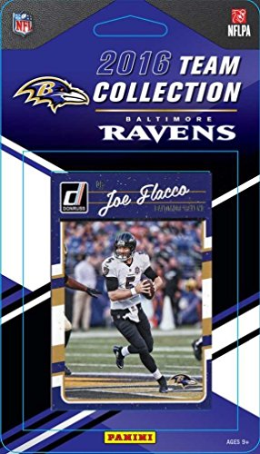 2016 Panini Donruss Football Baltimore Ravens Factory Team Set 15 Cards W/Rated Rookies by Panini