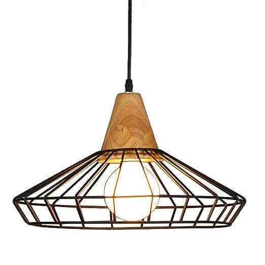 Modern Vintage industriales jaula - Lámpara de techo, motent ...