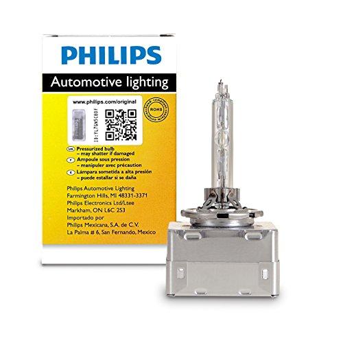 Philips D1S 35W Single Xenon HID Headlight Bulb (Pack of - Headlight Hid Xenon