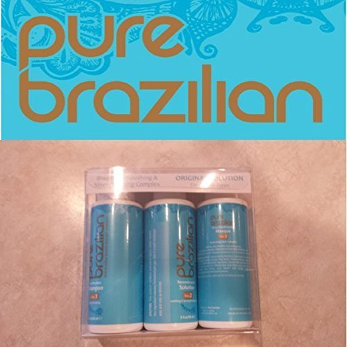 Pure Brazilian Smoothing & Strengthening Original Solution Treatment