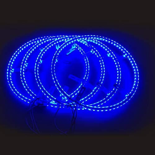 Tire Lights RGB Wheel Light LED Underglow lights Double row Car ...