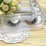 GreatFun 3D Natural Multi Layer Thick Cross Eye Lashes False Eyelashes