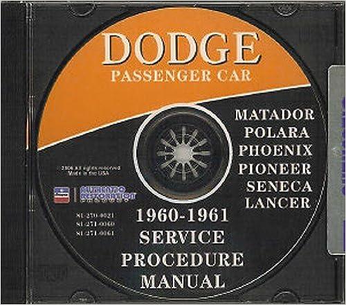 1960-1961 Dodge CD Repair Shop Manual for all models