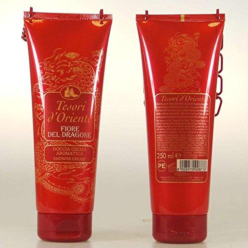 Tesori Doriente   Fiore Del Dragone  Shower Cream   250 Ml  8 45Us Fl Oz    Italian Import