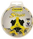 Champ Scorpion Stinger Q-Lok 18 Count Golf Spikes, Outdoor Stuffs