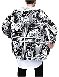 Baggy Fashion Cartoon Sun Block Hiphop Dance Rain Jacket