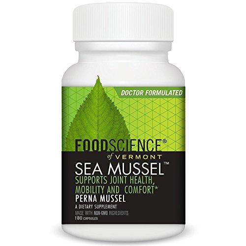 Food Science Sea Mussel - FoodScience Of Vermont Sea Mussel 180 Caps