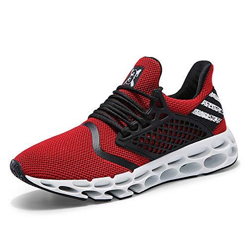 Deportivos para Antideslizantes Hombres Deportivos Q red para Zapatos Exteriores Zapatos Zapatos Deportivos Hasag I8qtHt