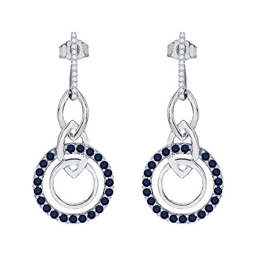 diamond-and-sapphire-dangle-earring-in-sterling-silver-1-1-3-cttw-color-gh-clarity-i2-i3