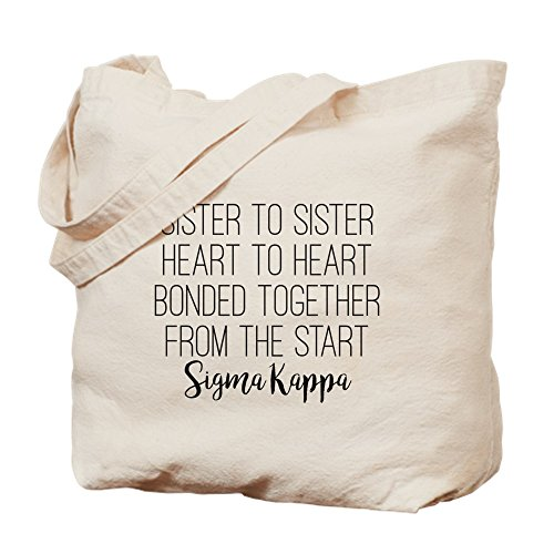 Bag Sigma CafePress Tote Sisters Bag Kappa Natural Canvas Cloth Shopping zZnqdBZP