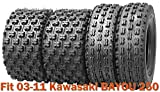 kawasaki bayou 250 tires - Set of 4 Sport Racing ATV tires 21x8-9 & 22x10-10 for 03-11 Kawasaki BAYOU 250