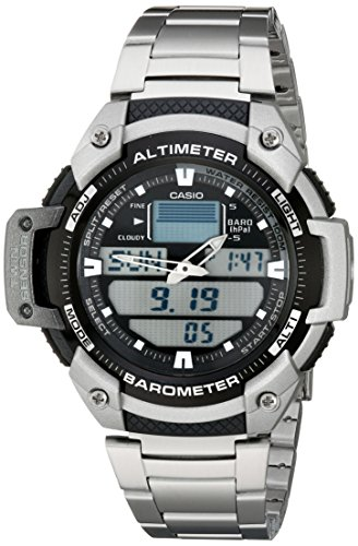Casio Men's Multitask Gear Sports Watch Stainless Steel SGW400HD-1B