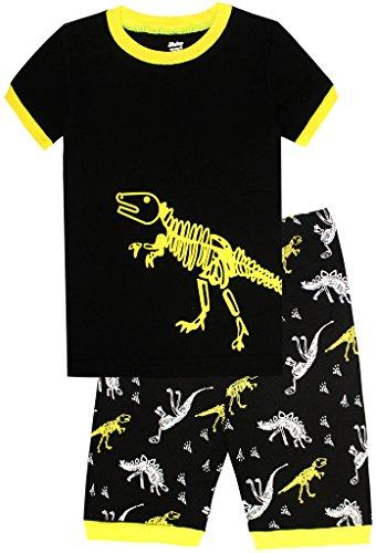 Pajamas Dinosaur Cotton Toddler Sleepwears product image