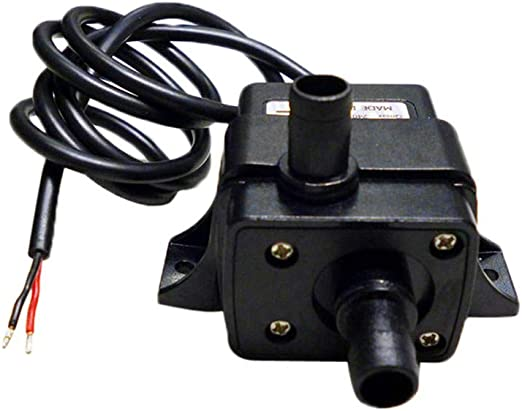 DC12V 3m 240L//H Ultra Quiet Brushless Motor Submersible Pool Water Pump Solar