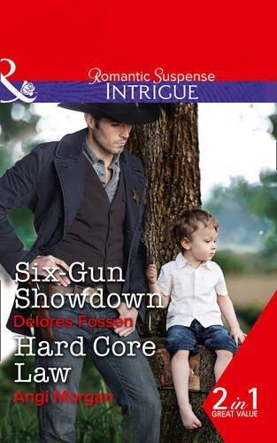 book cover of Six-Gun Showdown / Hard Core Law