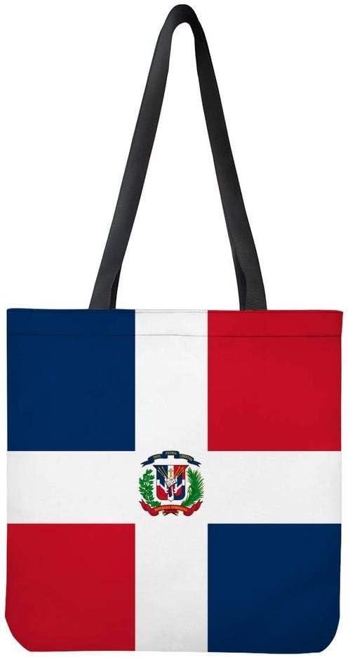 Dominica Flag Womens Fashion Large Tote Ladies Handbag Shoulder Bag