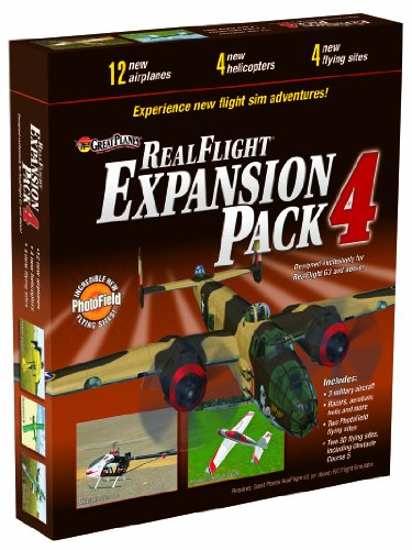 Great Planes RealFlight G3 and Above Pack 4 Expansion (Realflight Expansion Pack)