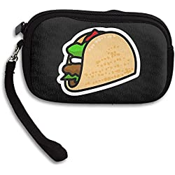 Cartoon Taco Zero Wallet Coins Change Purse Clutch Zipper Zero Wallet Phone Gift