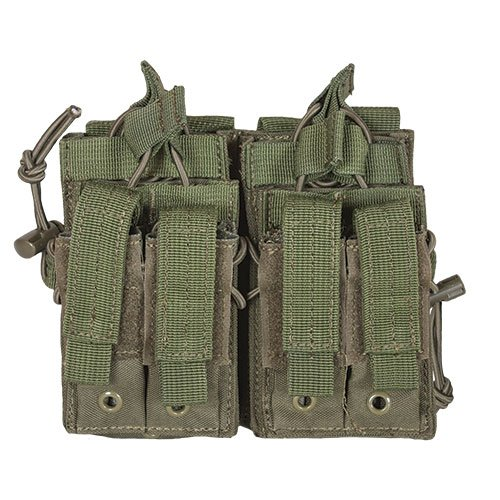 (Fox Outdoor Products Tactical Quad Stack, Olive Drab)