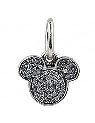 TAOTAOHAS 925 Sterling Silver Charm Beads Dangle pendant, Mickey Head