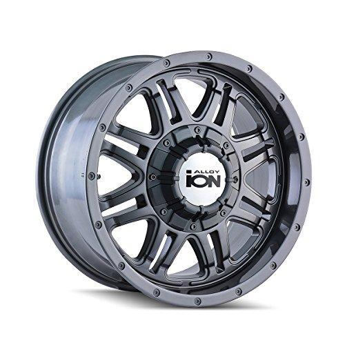 One ION 186 Gunmetal Wheel/Rim – 17×8 – 5×135 – +10mm