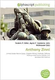 Anthony zinni: united states marine corps, virginia military