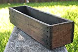 24'' Rustic Planters Box (5-5.75''T - Tall Version)